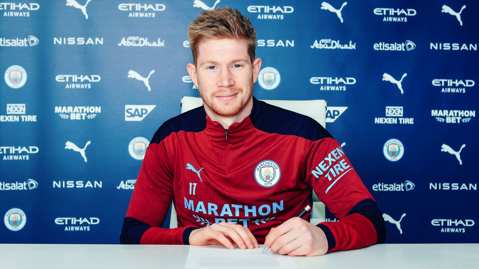 Bruyne contract extension
