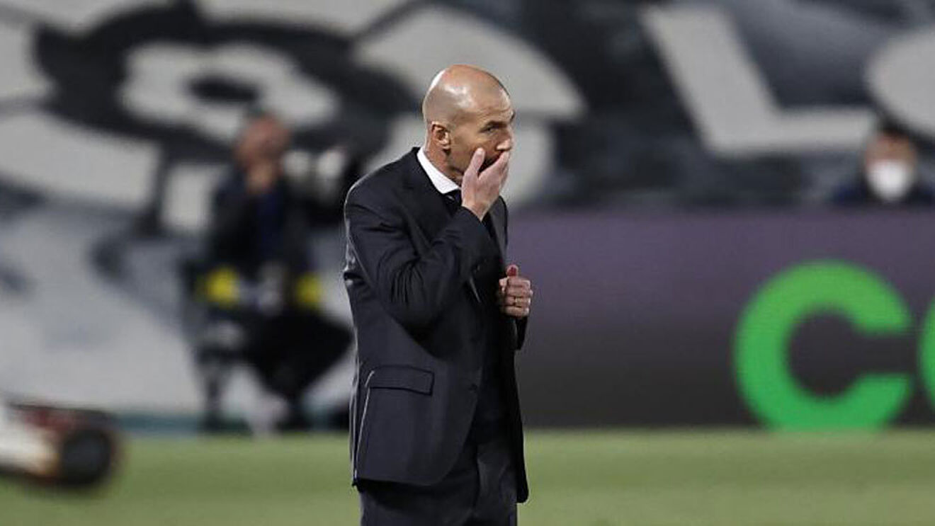 Zidane's malformation backfires as Real Madrid run out of luck in Champions League