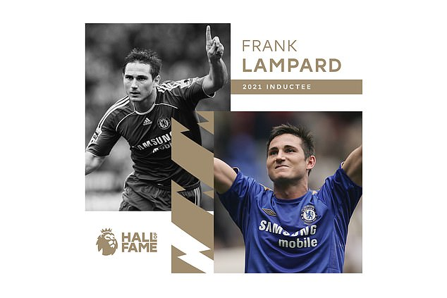 Frank Lampard sets his foot in the Premier League Hall of Fame for the fifth time