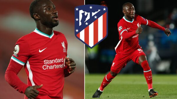 Naby Keita to leave Liverpool and join Atletico Madrid this summer