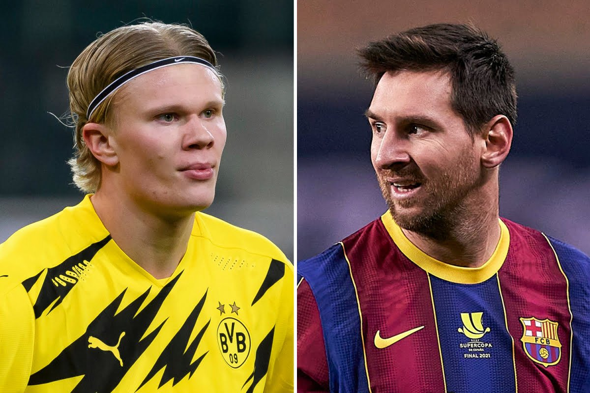 Barcelona Transfer News | Barcelona prioritize a move for Haaland over re-signing Messi