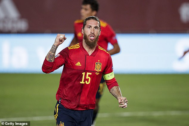 Real Madrid captain Sergio Ramos left out of Spain's final Euro 2020 but Man City Laporte has been selected