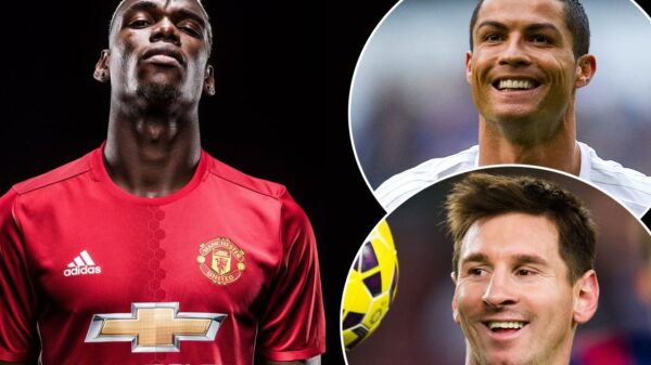 "Pogba gives diplomatic answer to Ronaldo vs Messi debate. ""For me, there is no better. They are two legends."""