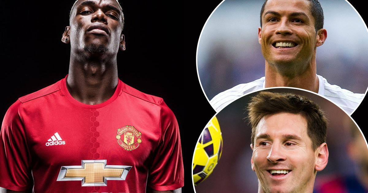 """Pogba gives diplomatic answer to Ronaldo vs Messi debate. """"For me, there is no better. They are two legends."""""""