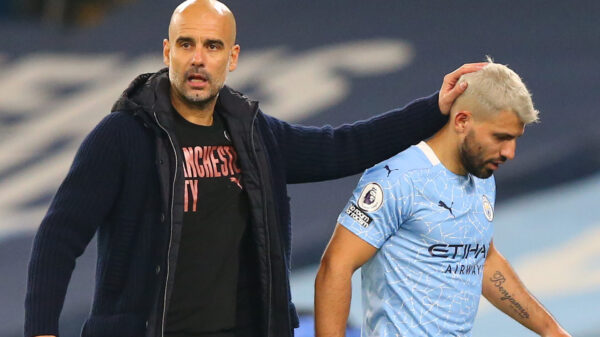 Sergio Aguero close to signing a contract with Barcelona, reveals Guardiola