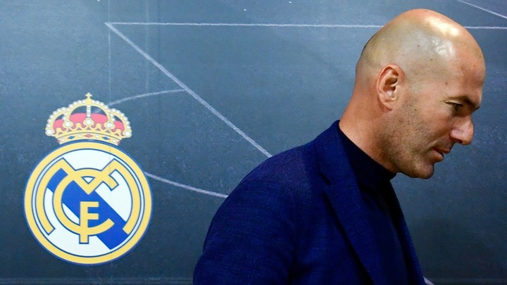 Zinedine Zidane, the former Real Madrid manager, explained his intention to depart the Santiago Bernabeu.