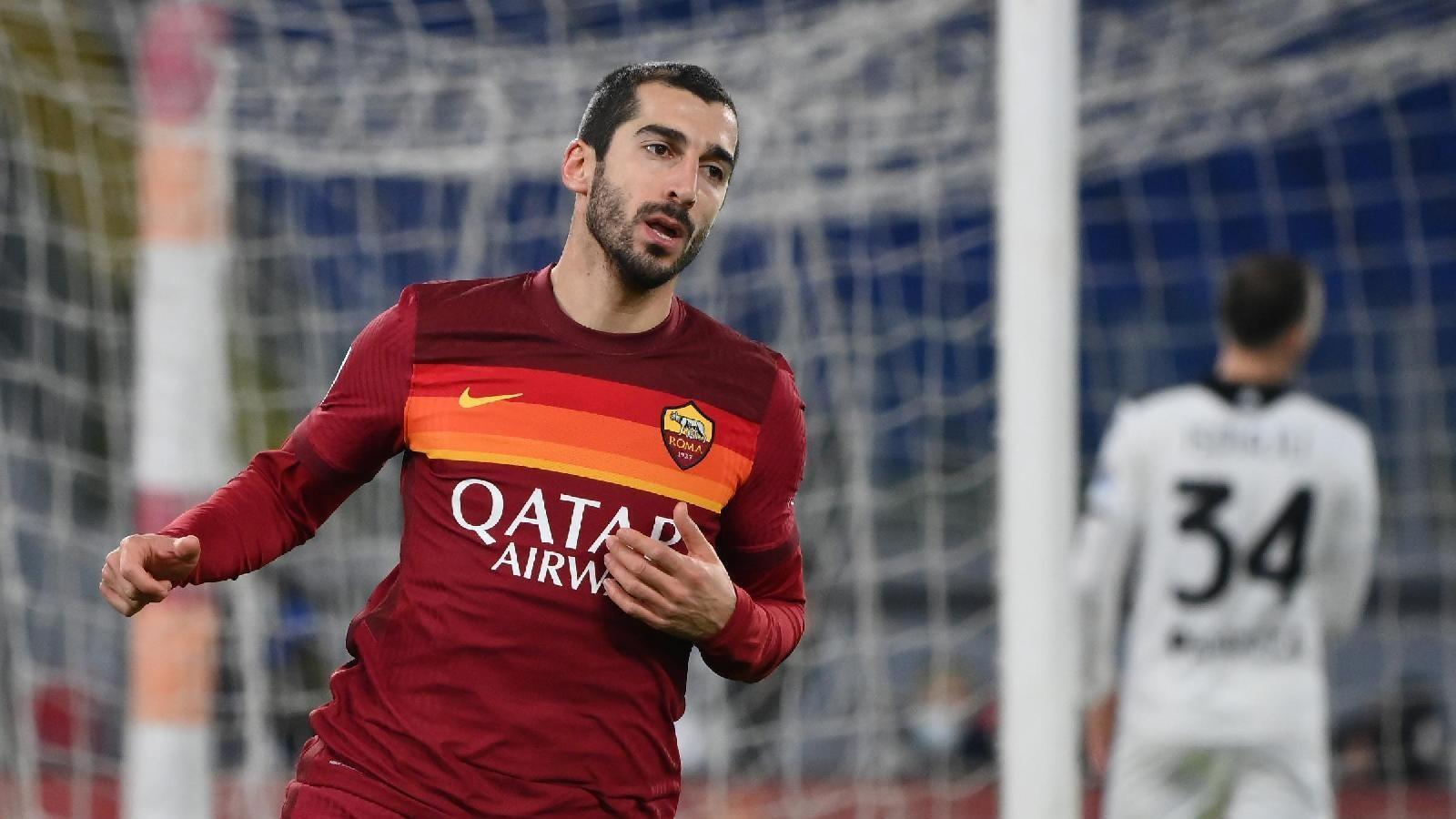 Roma News   Jose Mourinho offers new deal to Henrikh Mkhitaryan to extend his stay at Roma