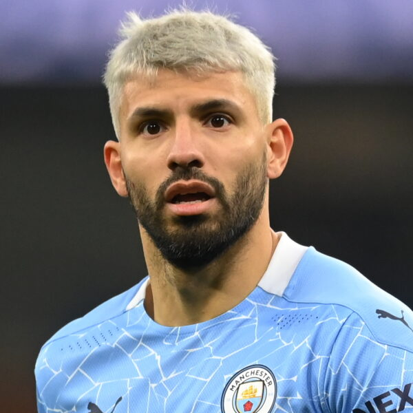 Manchester City striker Sergio Aguero tested positive for Covid-19